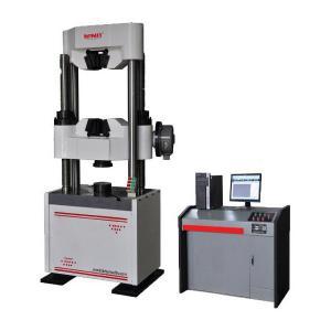 Cheap Computerized Hydraulic Universal Testing Machine Worm Gear Drive 600 KN Capacity wholesale
