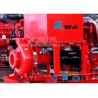 Buy cheap 300GPM@110PSI Centrifugal Fire Pump 254 Feet With 42.5KW Max Shaft Power product