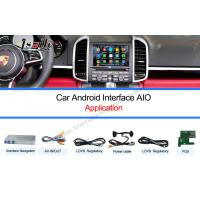 Buy cheap Multimedia Video Interface / Android Auto Interface Work on 10-15  Cayenne PCM3.1 System product