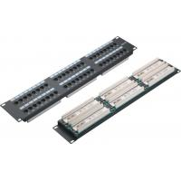 UTP 48 Port Patch Panel 2U AMP Type Cat5e Patch Panels for Computer Center YH4015