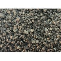 Buy cheap True Density 3.9g/cm3 Min Refractory Raw Materials Brown Fused Aluminuim Oxide 3-5MM 5-8MM product