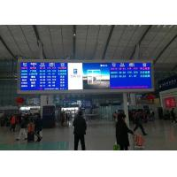 Buy cheap Indoor led video displays 5mm pixel pitch indoor advertising led display for railway station message board from wholesalers