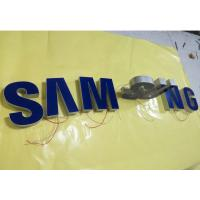 China Samsung Epoxy Resin Lighted Channel Letters , Injection Plastic Wall Mounted Letters on sale