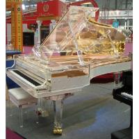 Buy cheap Full Transparent  Acrylic Grand Piano-The most exclusive handmade Crystal Grand Pianos from wholesalers