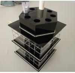 Buy cheap Acrylic Makeup Organizer for Cosmetics Plexiglass Cosmetics Display Case product