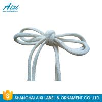 Buy cheap 100% Cotton Webbing Straps Printed Flat Cotton Elastic Cord Shoelace product
