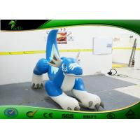 Buy cheap Fire - Resistance Inflatable Cartoon Characters , Inflatable Blue Dragon For Riding product
