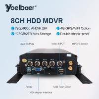 Buy cheap High Stable 8ch DVR AHD 720P 4G GPS Tracking On Mobile Phone Computer APP product