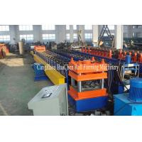 Buy cheap Gear Box Drive Highway Guardrail Forming Machine Thickness 4mm product