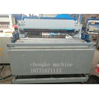 Buy cheap Galvanized Wire Black Wire Mesh Spot Welding Machine , Fence Mesh Welding Machine product