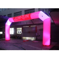 Buy cheap Custom Advertising LED Inflatable Start Finish Arch For Event product