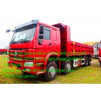 Buy cheap HOWO7 DumpTruck 8x4 Sinotruck 371hp For Construction Mine Working With 30m3 bucket from wholesalers