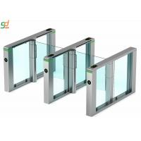 Buy cheap Servo Motor Rfid Barrier Turnstile Access Control System Acrylic Arm product