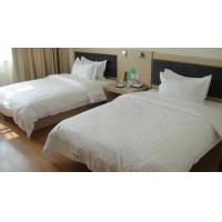 Buy cheap Interior Luxury Hotel Furniture Bedroom Sets Twin Beds With TV Stand Non Toxic product