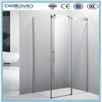 Buy cheap Big wheels, sliding opening aluminium profiles for shower enclosures corner shower doors shower room from wholesalers