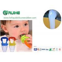 China Food safe silicone  Food Grade Liquid Silicone Rubber For Baby Bottle, Baby Nipple, Pacifier on sale