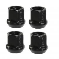 """Buy cheap Black Steel Acorn Lug Nuts / Chrome Wheel Nuts 1/2"""" Fits Dodge Ramcharger from wholesalers"""