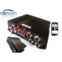 Buy cheap H.264 4Ch SD GPS Vehicle 4G Mobile DVR Mobile Digital Video Recorder product
