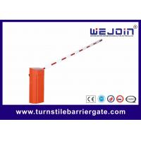 China CB01 Commerrcial Variable Frequency Barrier Gate with Straight Boom on sale