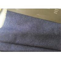 Quality 60wl3p10other navy heather  Color plain Melton Wool Fabric for all people for sale