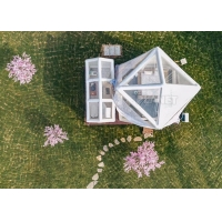 Buy cheap Internet Celebrity House Hotel Restaurant Commercial Outdoor Transparent Scenic Starry Sky Inflatable Lawn Tent Bubble product
