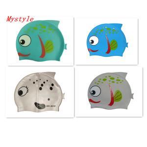 Buy cheap children cartoon swimming cap product