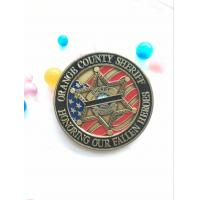 Buy cheap Souvenir euro silver gold antique custom metal challenge coin product