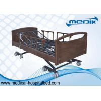 Buy cheap Dual - regress Function Ultra Low Beds , Home Care Beds For Nursing Home product