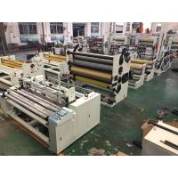 Buy cheap Toilet Tissue / Kitchen Towel Rewinding Machine With High Speed Economical product