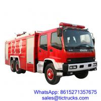 Buy cheap ISUZU 12000L 280HP Fire Fighter Truck 6 x 4 for sale_ product