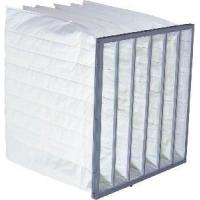 Buy cheap Medium Effiiency Bag Air Filter with Aluminum or Galvanized Frame product