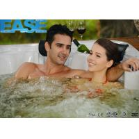 Buy cheap European style portable acrylic shell massage outdoor backyard hot tub and from wholesalers