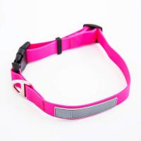 Buy cheap Reflective Waterproof Dog Collars , Smell Proof Dog Collar Polyester Webbing product