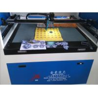 Buy cheap Double Head Laser Cutting Machine With Camera High Precision Positioning product