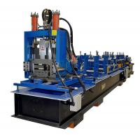 Buy cheap Steel Frame C Z Purlin Roll Forming Machine With 11.5kw Motor And Automatical Cutting Devices product
