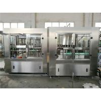 Buy cheap Automatic Liquid Bottle Filling Machine , Hanging - Neck Technology Water Processing Machine product