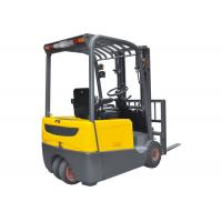 Buy cheap 1.6 Ton Three Wheel Electric Forklift Truck With Dual Front Driving Wheel product