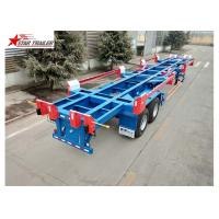 Buy cheap 3 Axles Terminal Trailer High Tensile Low Alloy Steel With 550 MPa Yield from wholesalers