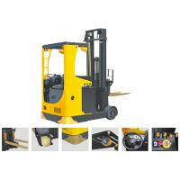 Buy cheap Seat Type Electric Reach TruckForklift , Narrow Aisle Reach Truck 6.2m Lifting Height product