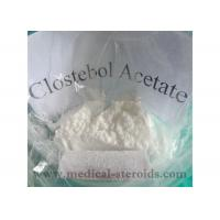 Buy cheap CAS 855-19-6 Testosterone Anabolic Steroid Clostebol Acetate For Gain Muscle product