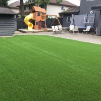 Buy cheap Four Tone 40 MmArtificial Grass Landscaping Synthetic Natural Looking product