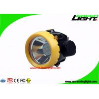 Buy cheap 2.2Ah Rechargeable Cordless Coal Led Mining Headlamp , Explosion Proof IP67 Miners Hard Hat Lamp from wholesalers