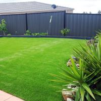 Buy cheap Ultraviolet Proof Synthetic Playground Turf Flexible Gorgeous Color Plastic Ornamental product
