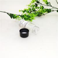 Buy cheap 33mm Height Clear Plastic Cylinder , 40ml / 50ml Bottle Tube Mini Plastic Jars from wholesalers