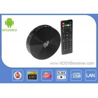 China Spanish 4K Android Smart IPTV Box HD MPEG1 / 2 / 4 H.264 Support Lan / RM / RMVB on sale