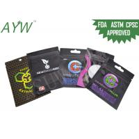 Quality Moisture / Smell Proof Zipper Bags 50g Eco Friendly Or Cigarette Gift Packaging for sale