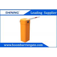 Buy cheap 80 W AC Straight Arm Parking Lot Barrier Gate , Security Car Boom Barriers  product