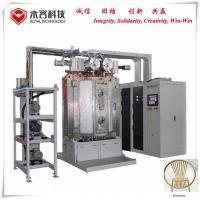 China Furniture Gold Color Titanium Nitride Coating Machine Recycle Water Cooling on sale