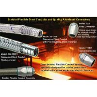 Quality Delikon braided flexible steel conduit for iron MILL wirings for sale
