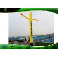 Buy cheap Advertising Standing Inflatable Air Dancers 2m With Certified Blower UV Printing product